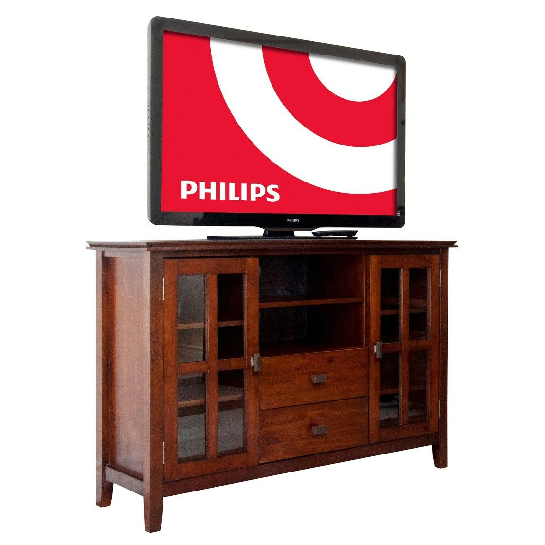 Simpli Home Artisan Tall Tv Media Stand New House Home Tv Stand