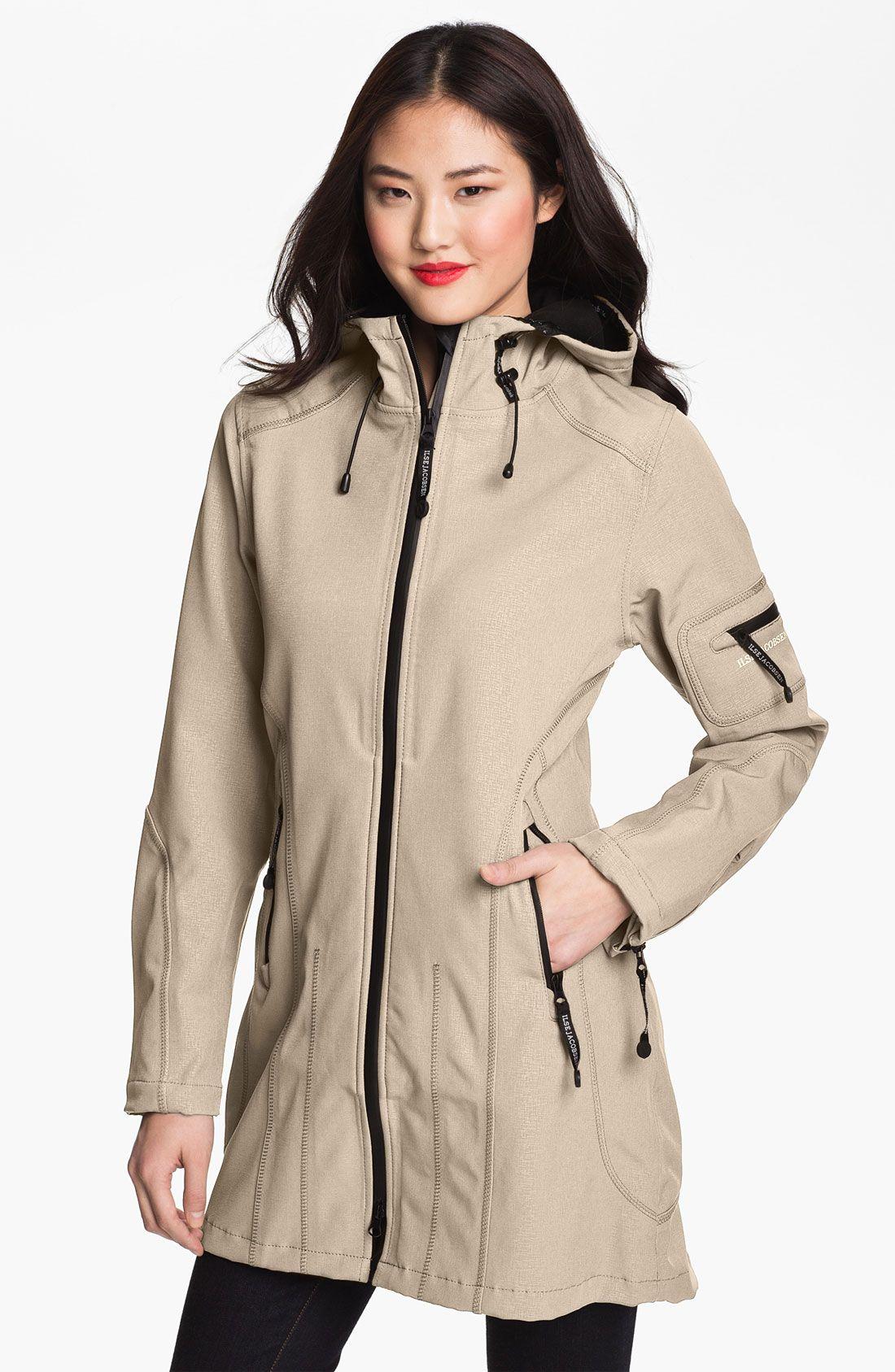 Rain 7 Hooded Water Resistant Coat | Raincoat, Rain jacket and Rain