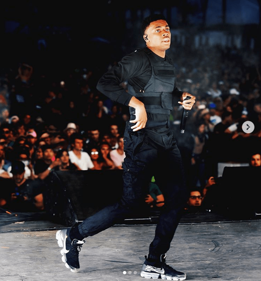 Vince Staples in the Off White x Nike Vapormax 2 0 | Vince