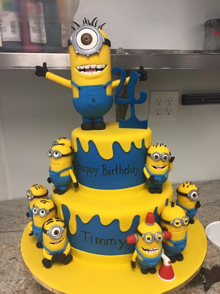 Fine Minions Birthday Cake Minion Birthday Cake Minion Cake Minions Funny Birthday Cards Online Unhofree Goldxyz