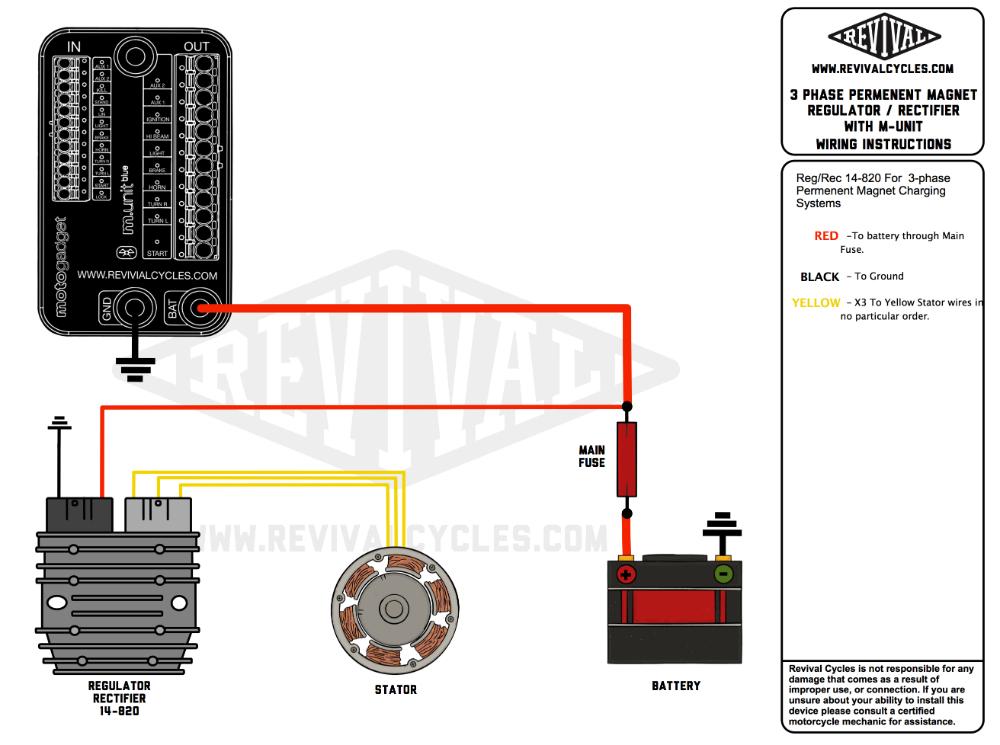 mosfet permanent magnet regulatorrectifier wiring diagram