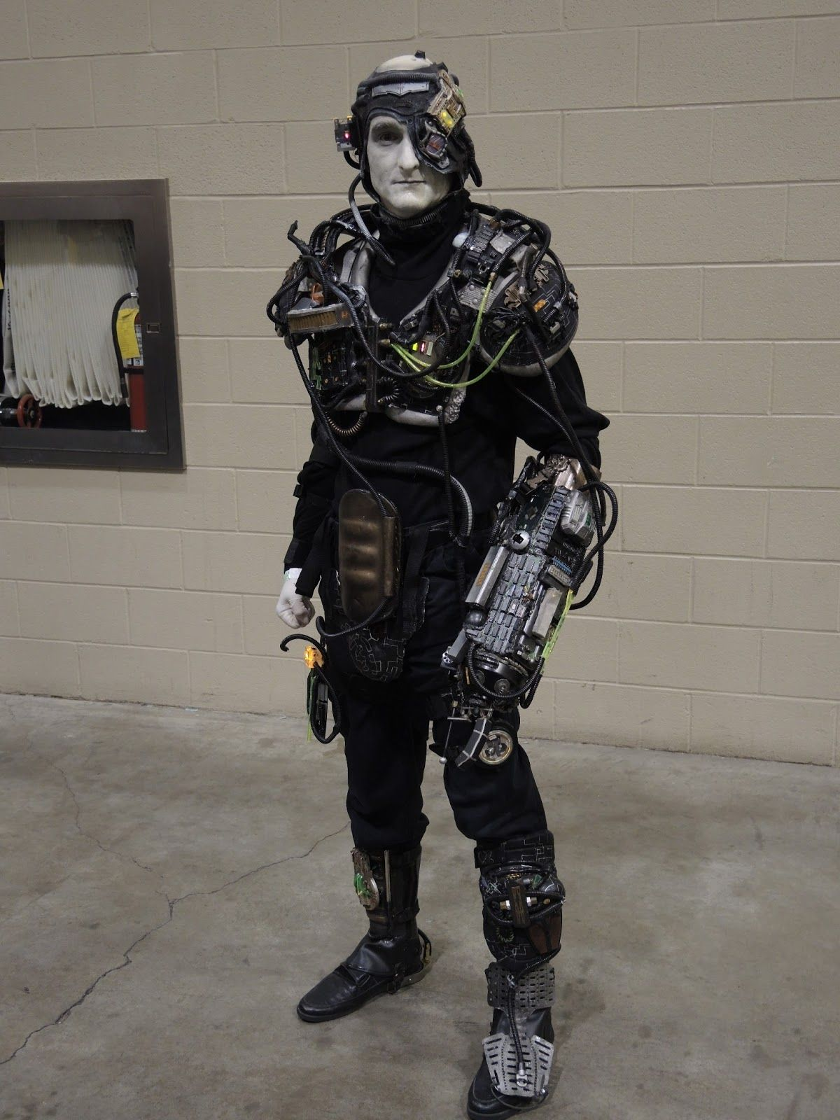 borg costume diy - Google Search | S T E A M P U N K ...