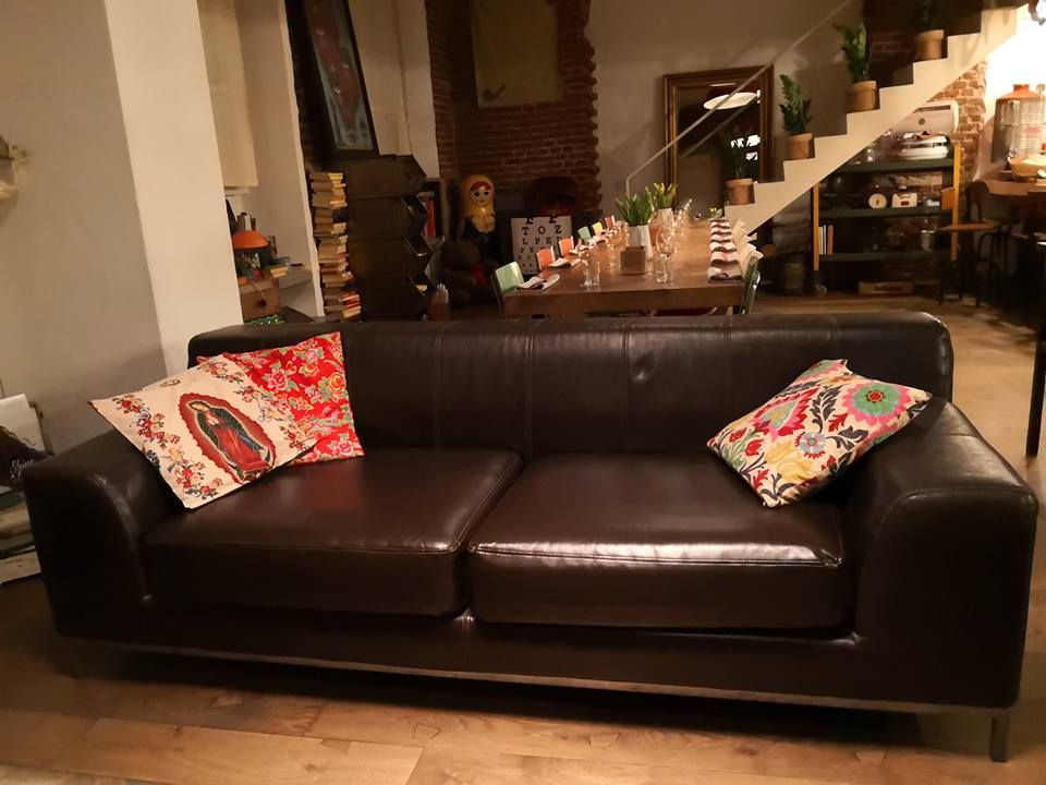 Fantastic Ikea Kramfors Sofa In Urbanskin Kramfors Leather Sofa Inzonedesignstudio Interior Chair Design Inzonedesignstudiocom