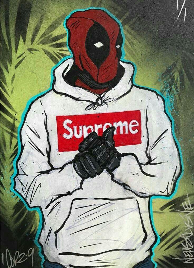 I Love The Best Deaadpool In 2020 Deadpool Wallpaper Superhero Wallpaper Supreme Iphone Wallpaper