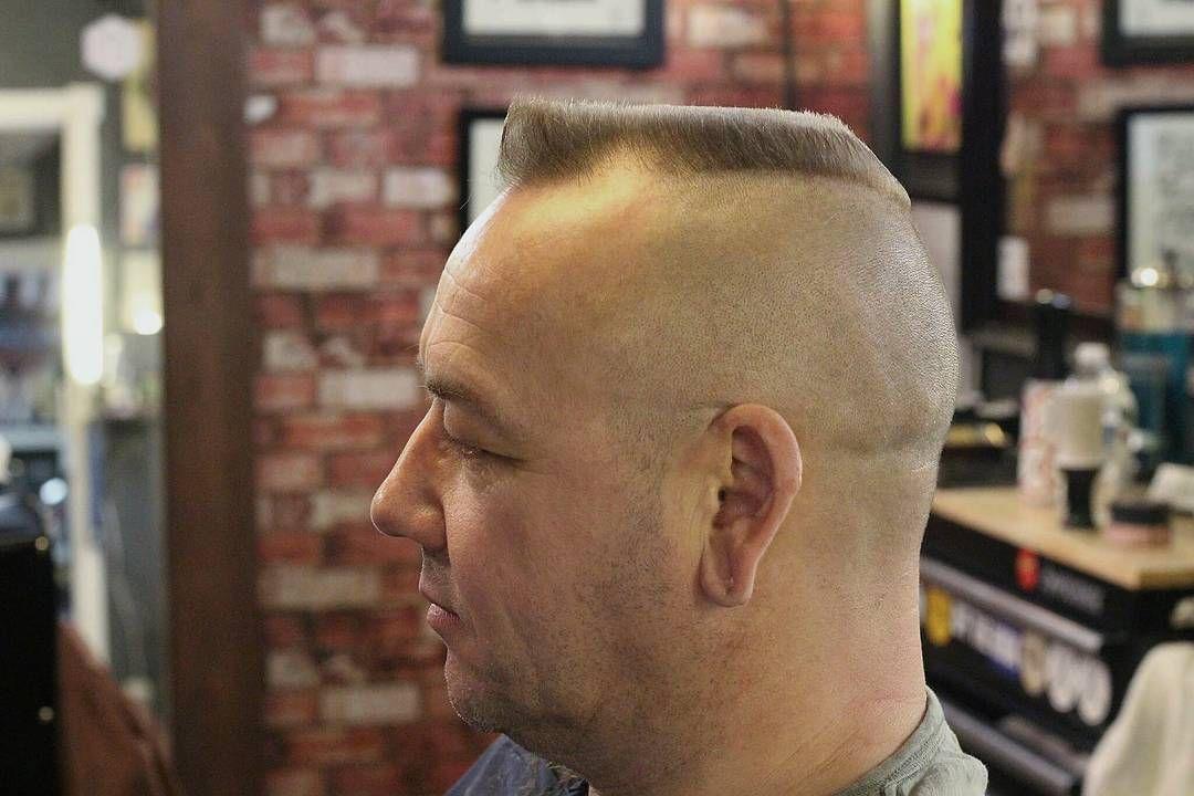 Flat Top Haircuts For Balding Man Haircuts For Balding Men Bald Men Balding Mens Hairstyles