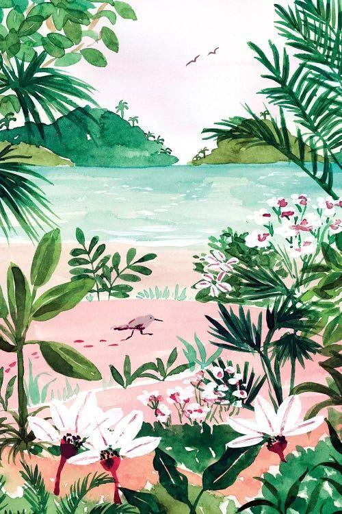 Seaside Meadow - Canvas Print