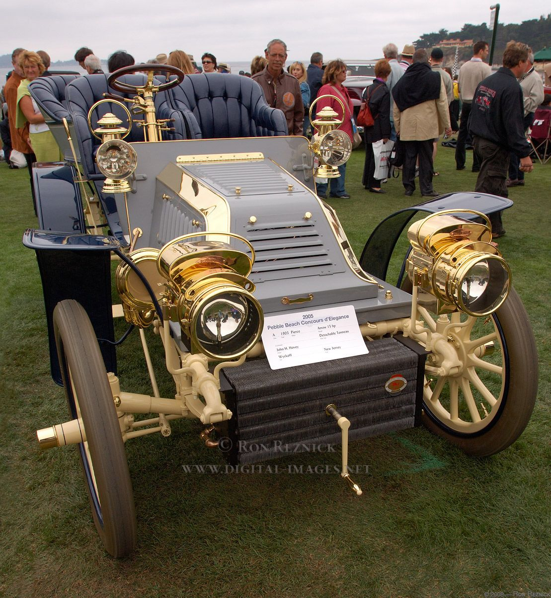 1903 Pierce Arrow 15hp Idee