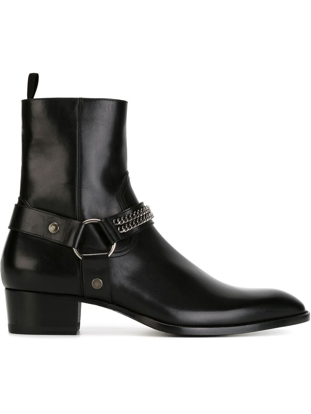 acfe71b10fc Saint Laurent  Wyatt  ankle boots