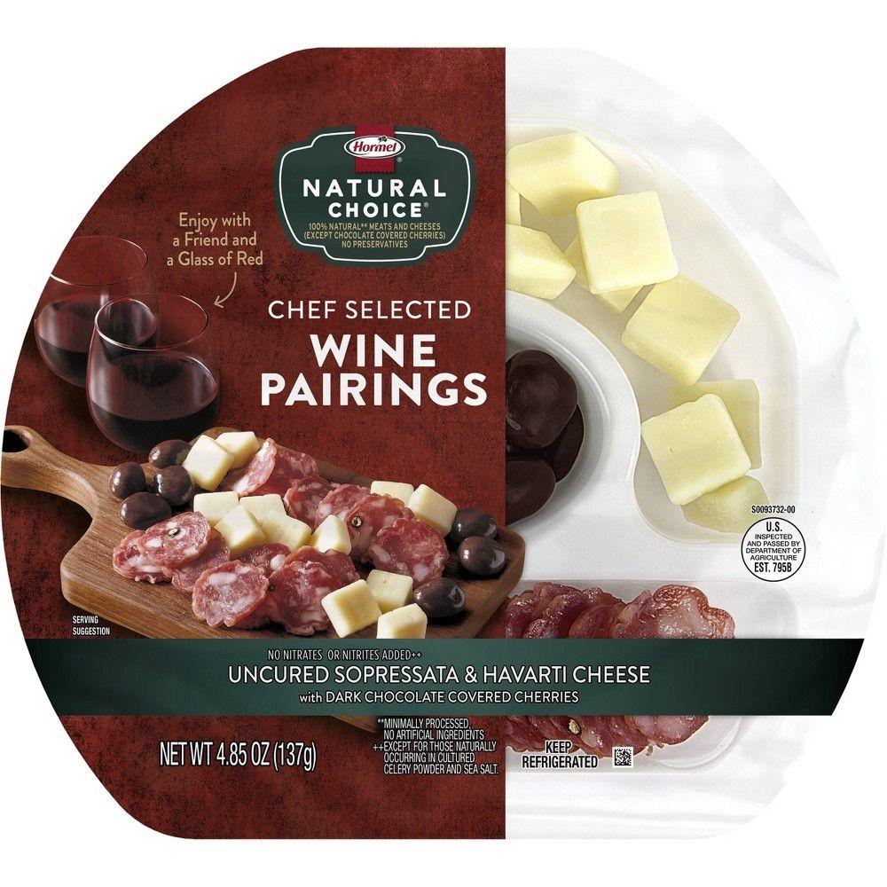 Hormel Natural Choice Sopresatta Havarti And Chocolate Cherries Red Wine Pairing 4 85oz In 2020 Red Wine Pairing Chocolate Cherry Wine Pairing