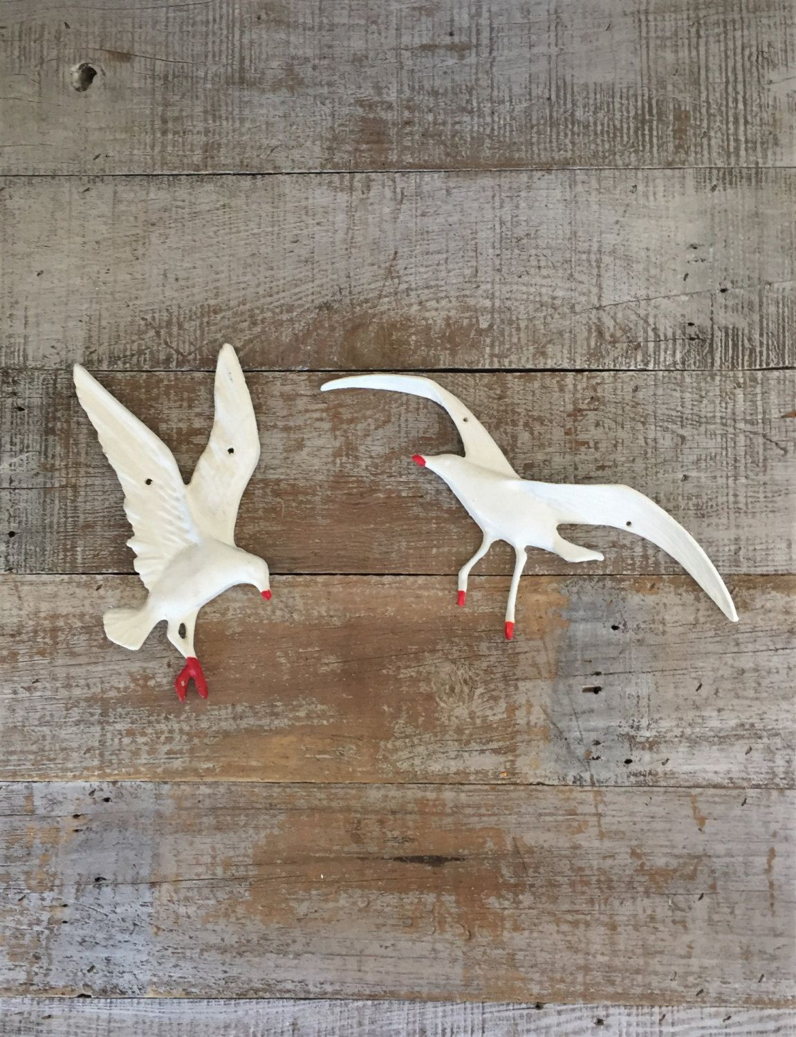 Seagull Wall Hanging Mid Century Seagull Birds In Flight