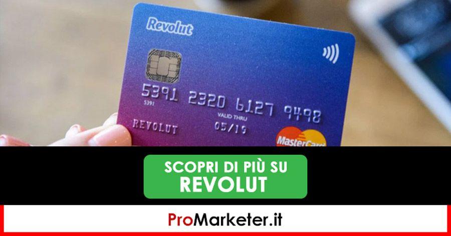 Revolut La Carta Con Iban Migliore In Italia Recensione Opinioni Costi E Guida Italia Conte Promozione