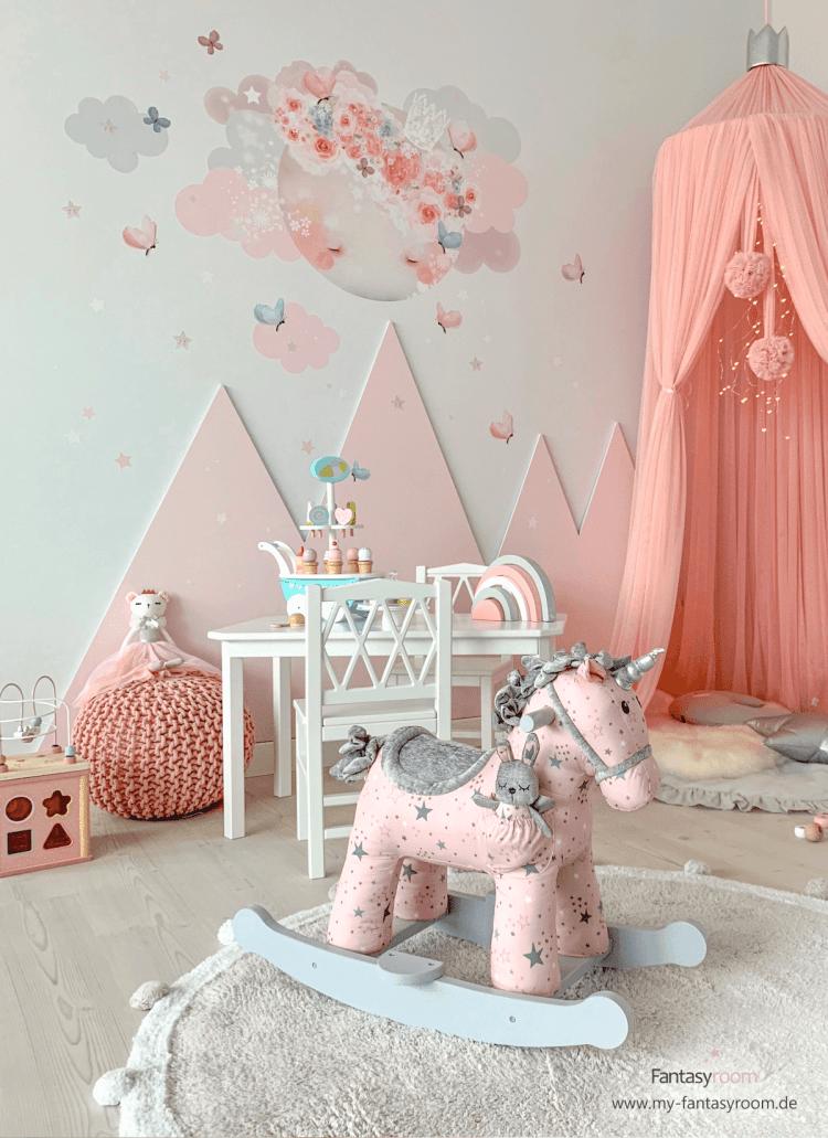 24 Wandfarbe Kinderzimmer Rosa