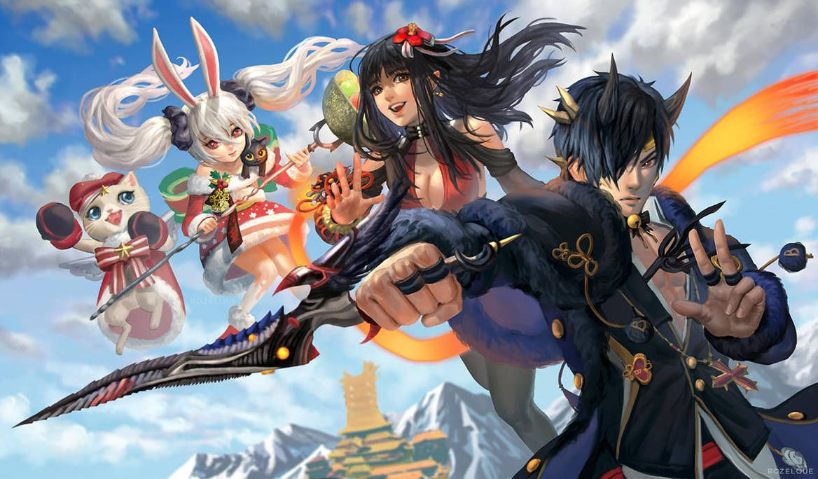 Blade and Soul by Rozelque Blade and soul anime, Blade