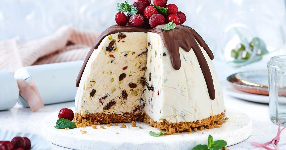 bdaa37129814c9a20588b181d49c1c4c - Ice Cream Christmas Pudding Better Homes And Gardens