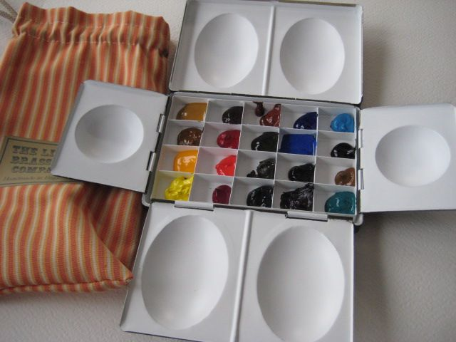 My Watercolor Box From The Little Brass Box Company Watercolor