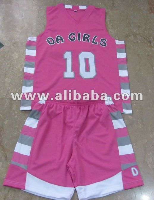 51856036b2b43 Basketball Wear   Customized Girls Basketball Uniforms 2012