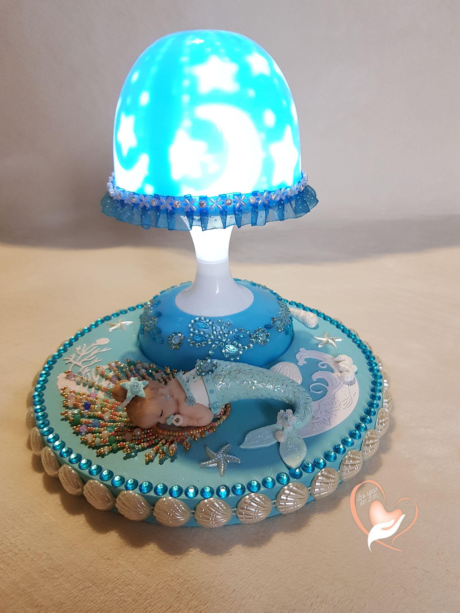 Veilleuse Lampe Lumineuse Sur Socle En Bois Bebe Fille Au Cœur Des Arts Enfants Filles Bebe Veilleuse Lampe