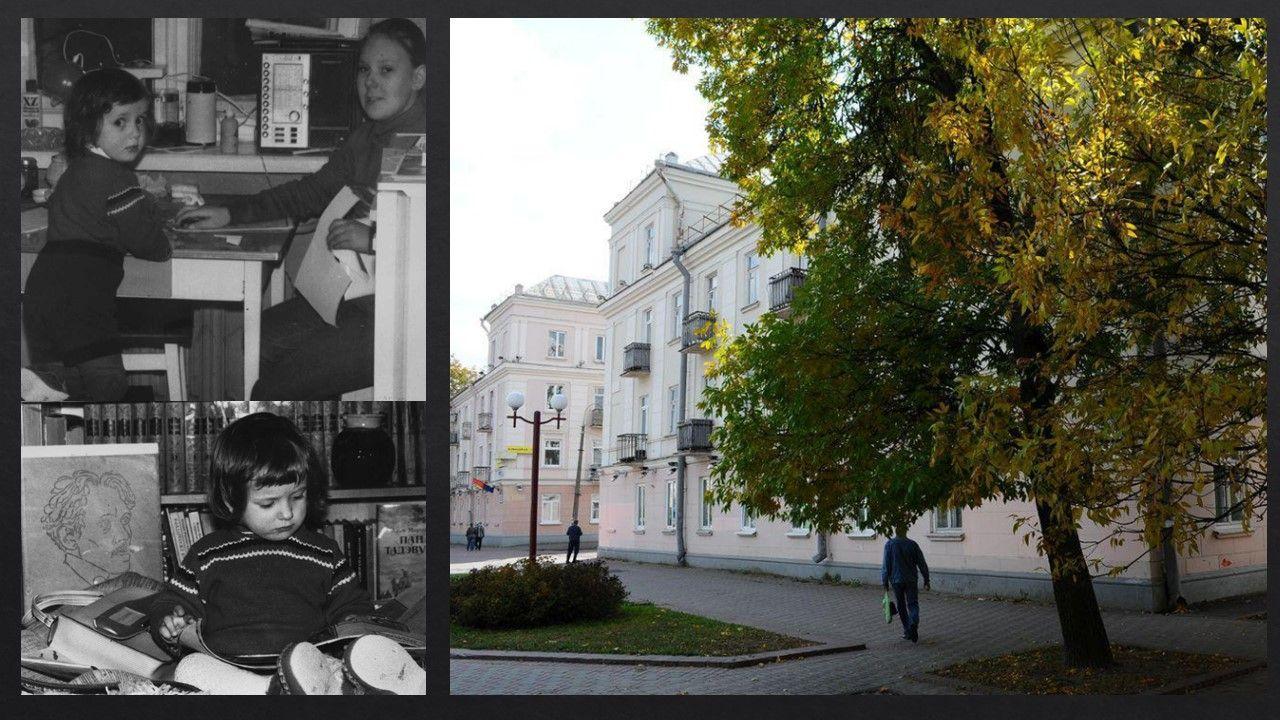 Это район моего детства, Автозавод. 15 лет я прожила в правом из этих домов с башнями. Построили их в 1947 году (говорят, что пленные немцы, утверждать не возьмусь). Мой прадедушка был главным инженером СМУ, которое отстраивало район после войны.