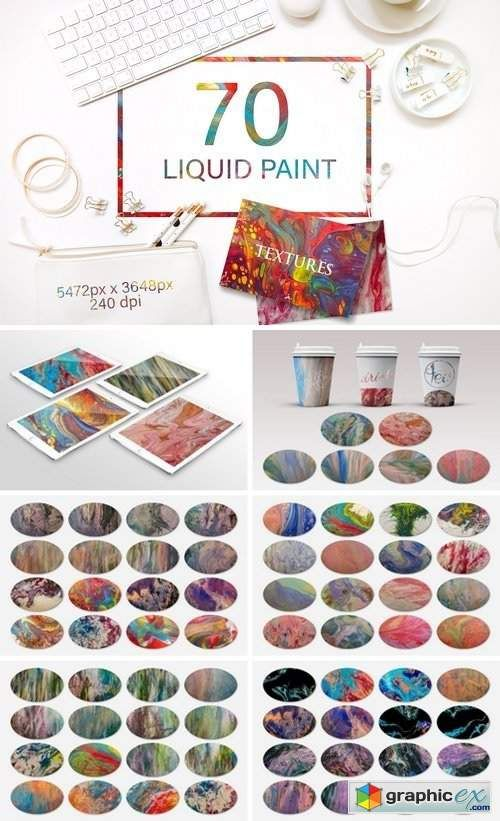 Liquid Paint Textures (con imágenes)