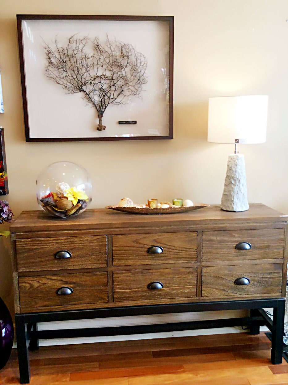 Console Table- TOra Home Design | Dresser as nightstand ...