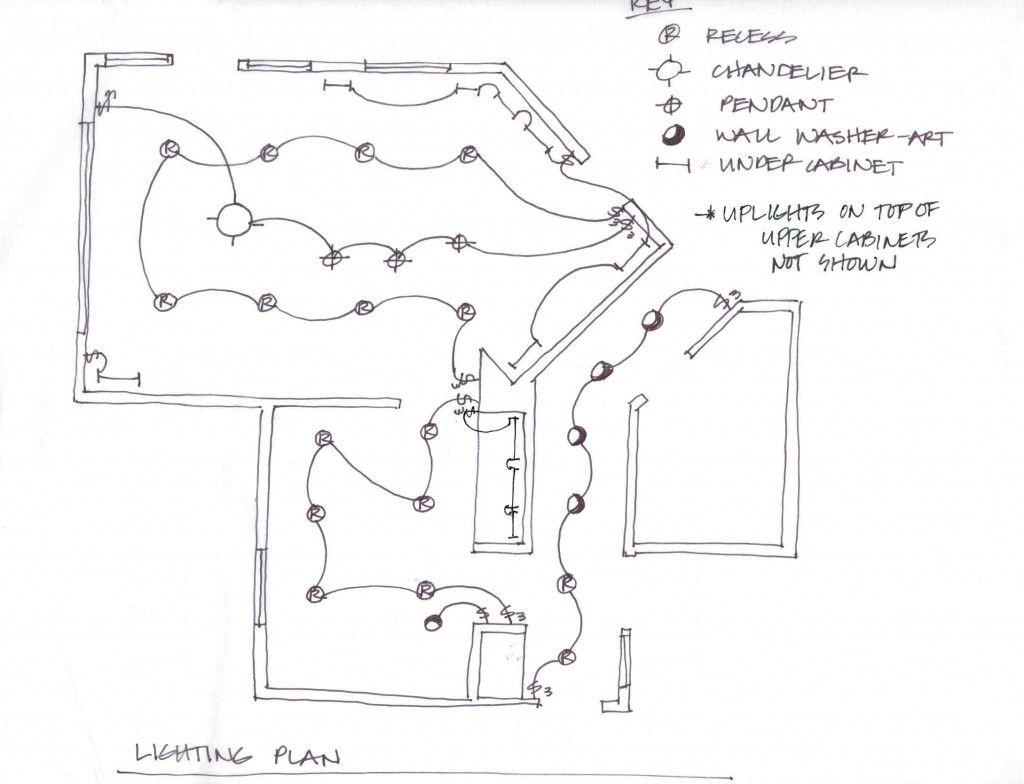 Lighting Blueprint Design Rough