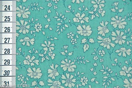 Liberty Capel turquoise Liberty of London