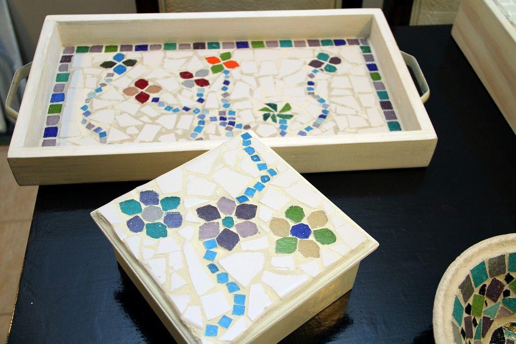 Cajas con mosaiquismo buscar con google cajas pinterest for Imagenes de futones