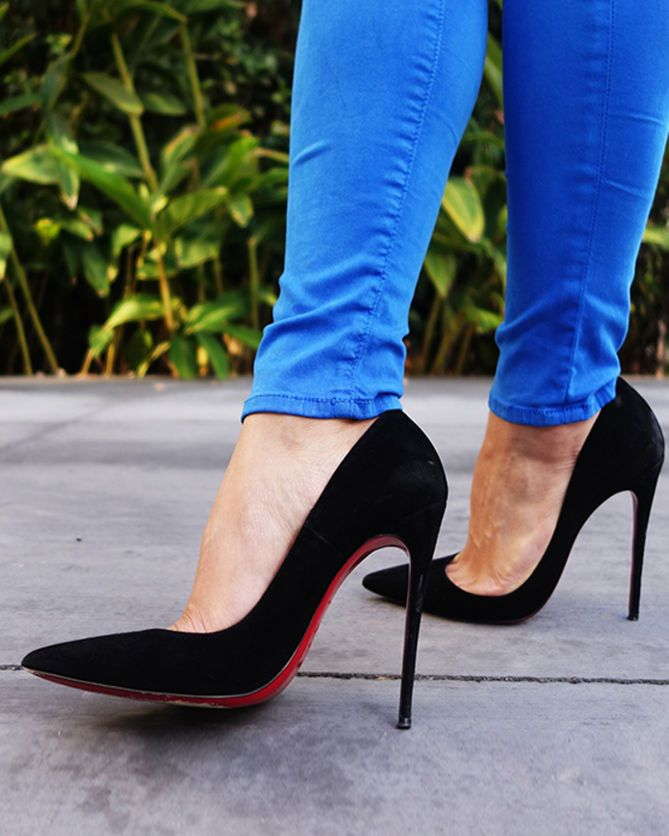half off a8b90 ae4ec Christian Louboutin So Kate 120 mm | in her shoes | Heels ...