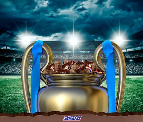 Snickers Chile - Hoy hay partido de la Champions. ¿Por qué equipo vas ?