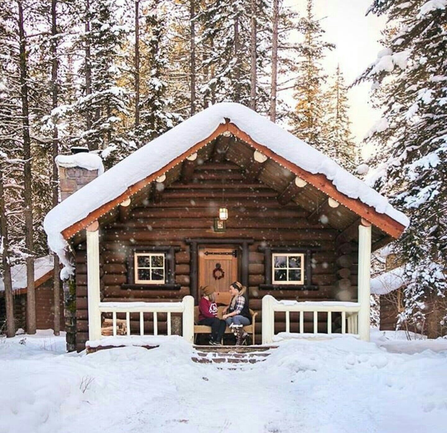 Cozy Winter Home: Pin By Chris Roberts On Cabin In The Woods