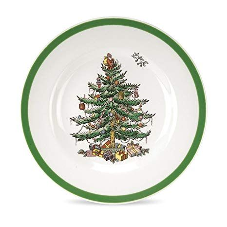 Spode Christmas Tree Bread And Butter Plate Set Of 4 Christmasplates Christmasentertaining Spode Christmas Tree Christmas Tableware