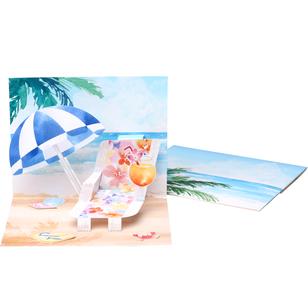 Pop Up Card Beach Others Pop Up Cards Card Canon Creative Park Pop Up Cards Pop Up Card Templates Paper Pop