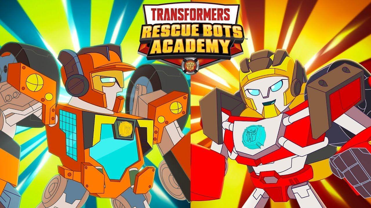 Rescue Bots Academy Hotshot Vs Wedge Digital Shorts In 2020 Rescue Bots Rescue Transformers
