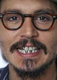 Image Result For Gold Teeth Johnny Depp