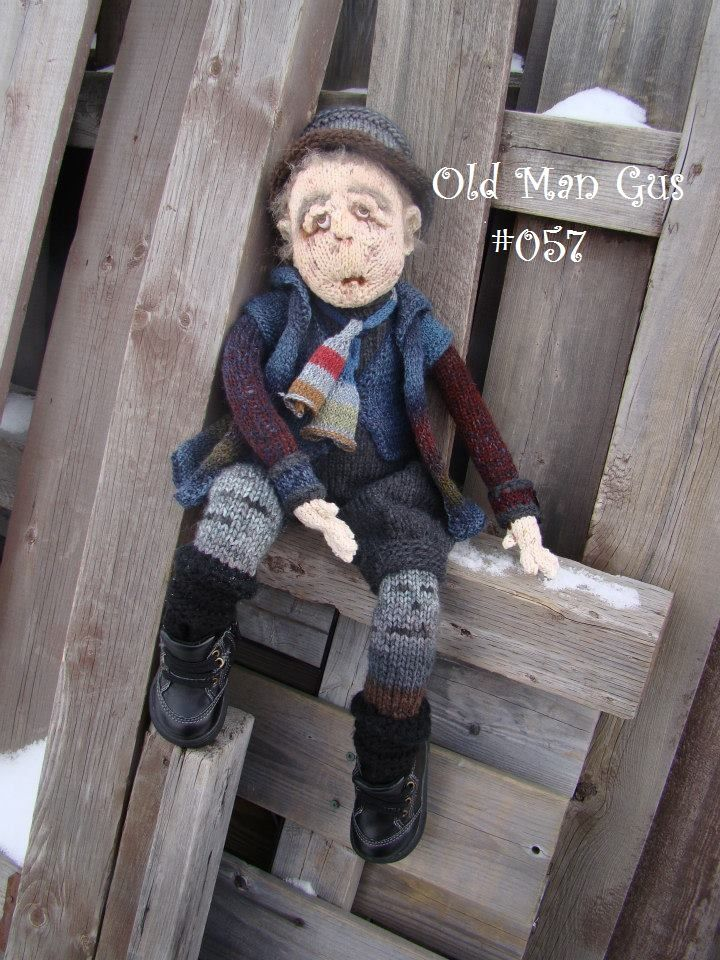 Old Man Gus #057 | Knit Dolls | Pinterest | Dolls, Knit crochet and ...