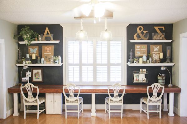 A Beautiful Chalkboard Wall In This Summer Home Tour Love