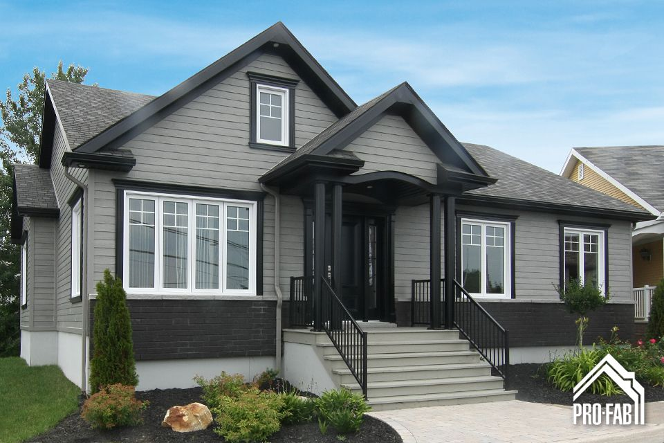 Pro fab constructeur de maisons modulaires usin es for Modele construction maison