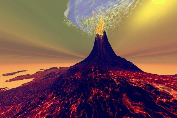 اخطر 10 براكين حول العالم حديث اليوم Volcano Digital Super Volcano Volcano
