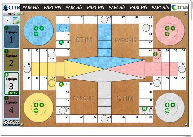 Parchís Online Educativo Juegos Educativos Online Juegos Clásicos Parchis