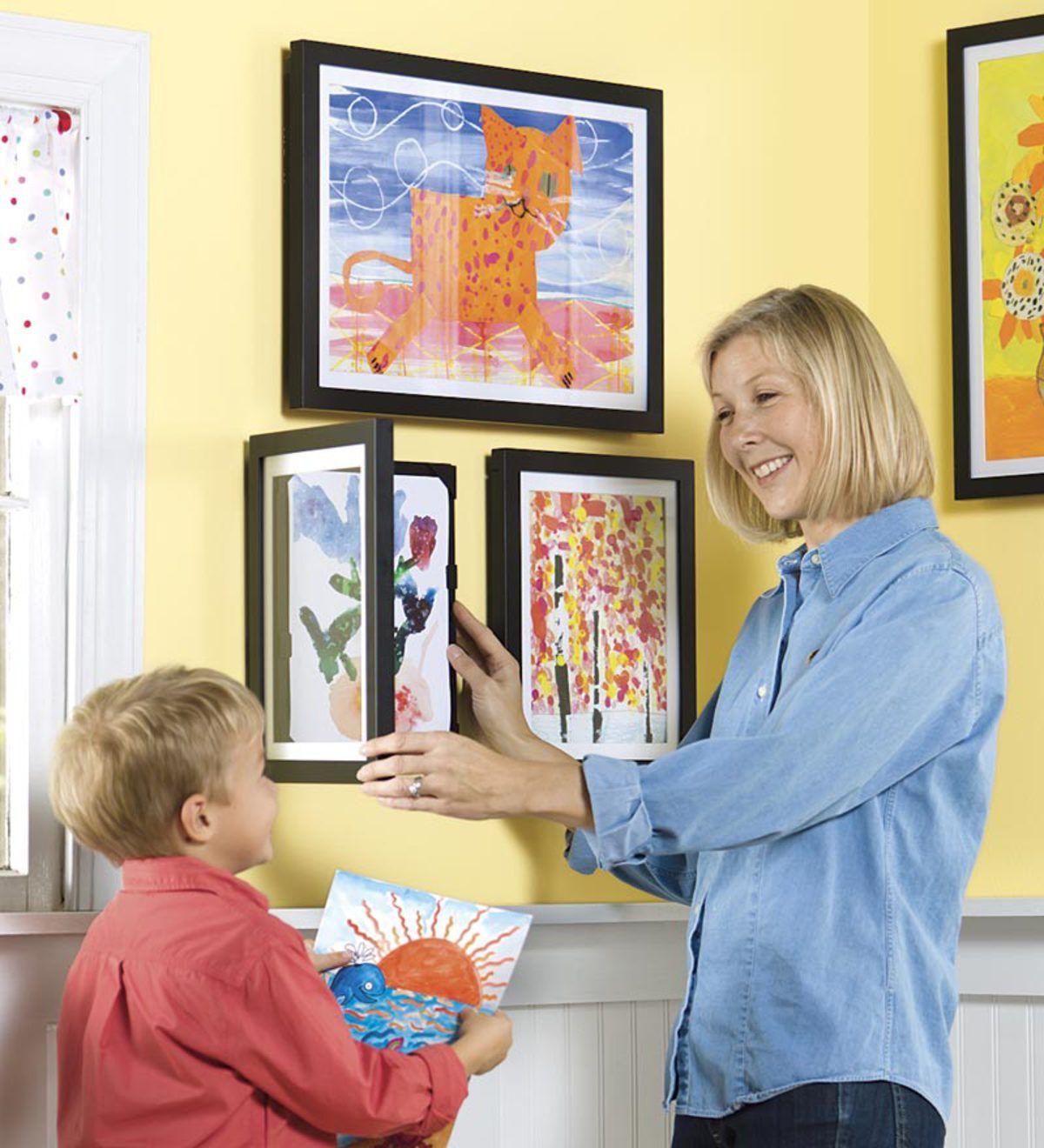 Li L Davinci Art Frames Best Selling Ages 12 And Up Hearthsong Da Vinci Art Kids Artwork Framed Art