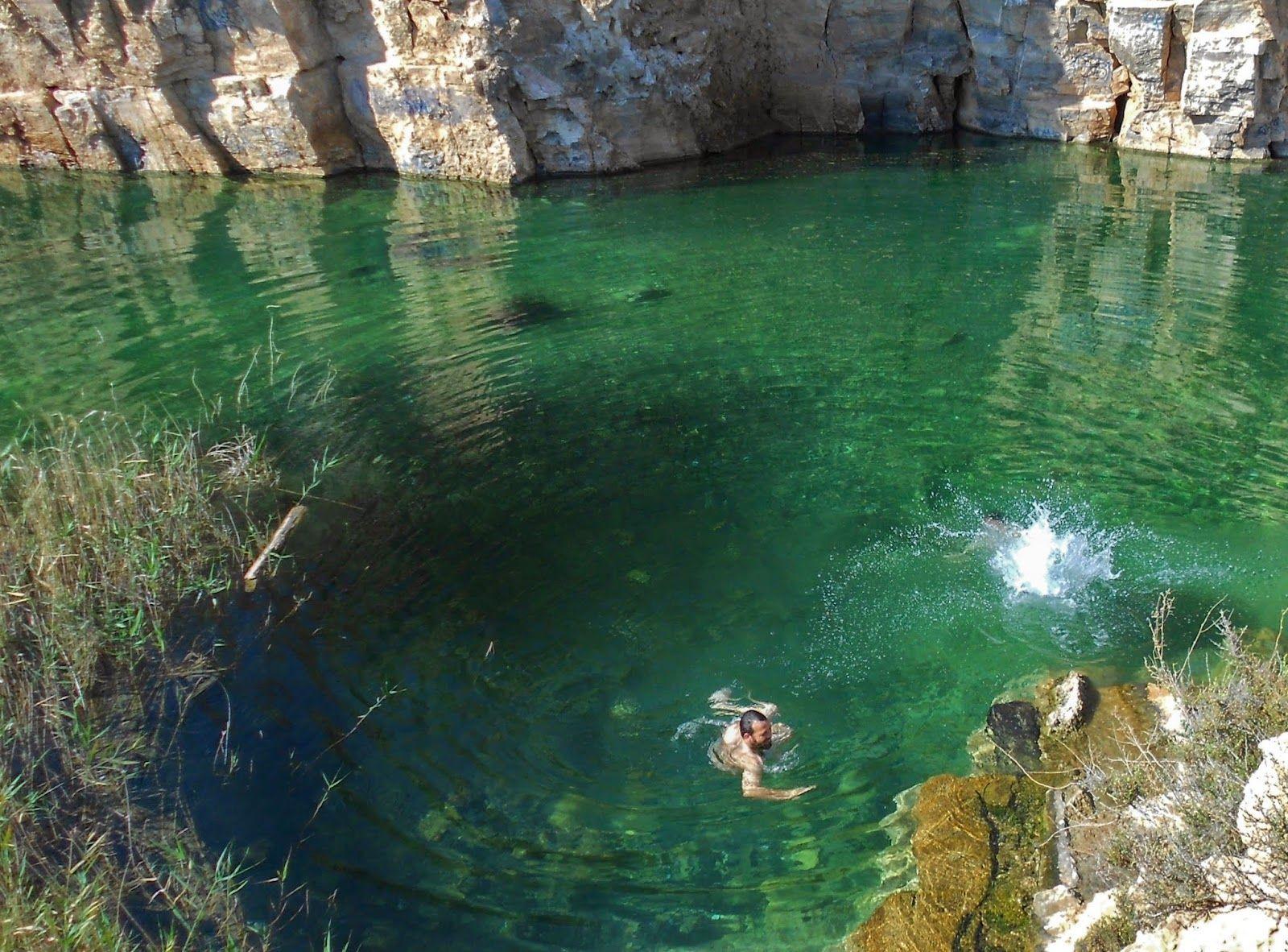 Baño primaveral en \