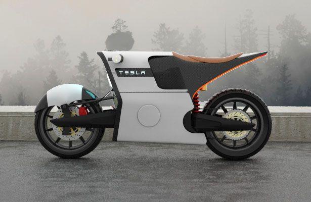 Tesla Ebike Electric Motorcycle Motorcycle Design Concept