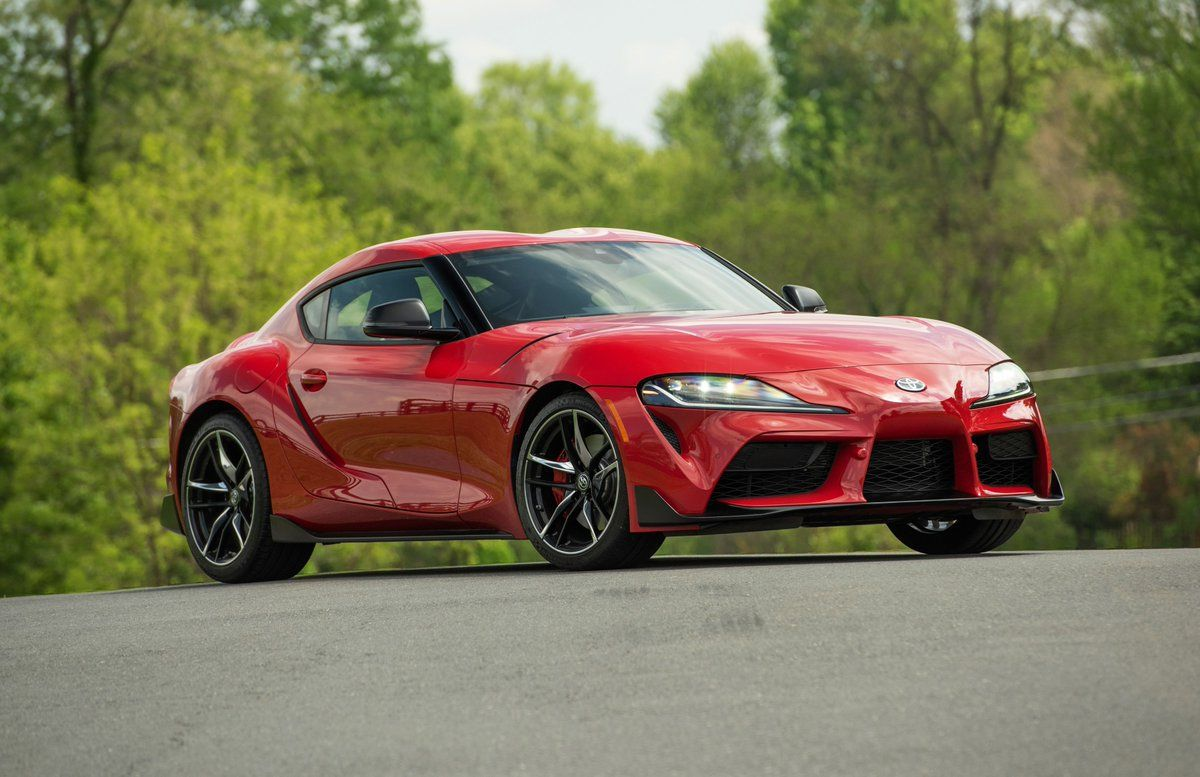 Car And Driver On Twitter In 2020 Toyota Supra Bmw Toyota