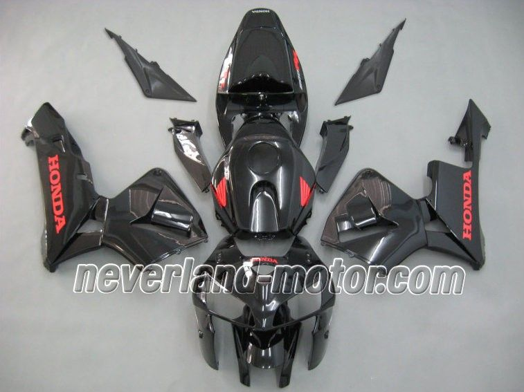 Honda CBR 600RR F5 20052006 ABS Fairing Black