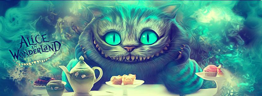 Открытки с днем рождения чеширский кот, днем рождения для