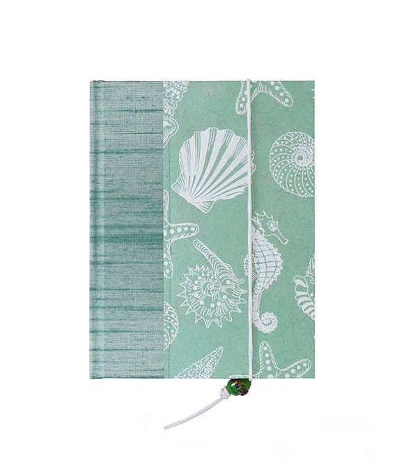so pretty new and real address book sea shells fab cover