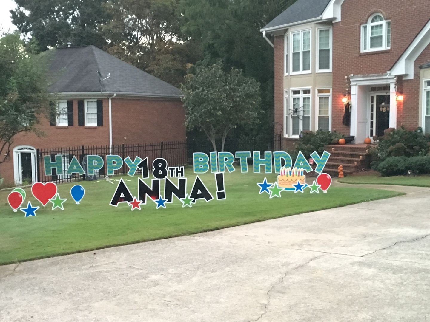 Peachtree Yard Cards Birthday Yard Signs Birthday yard