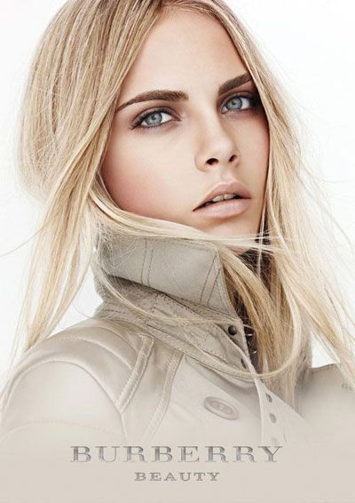Cara Delevingne for Burberry Timepieces  Beauty Ads