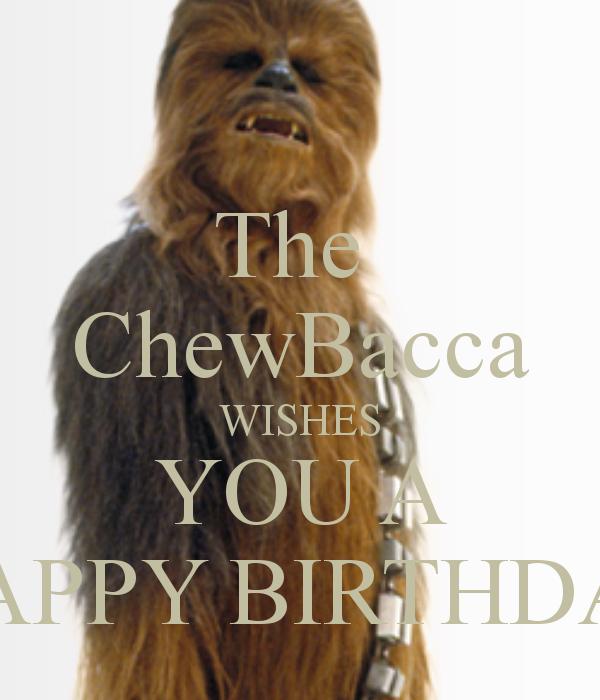 thechewbaccawishesyouahappybirthdaypng 600 700 – Chewbacca Birthday Card