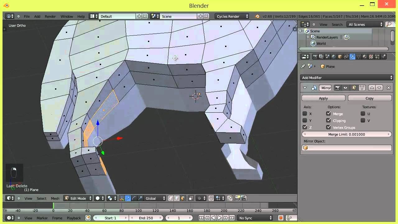 Modeling a wolf in blender 3d tutorial part 1 tutorials blender 3d malvernweather Image collections